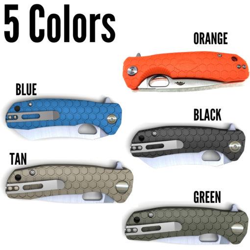 Honey Badger Knives EDC Pocket Knife Shapes Western Active